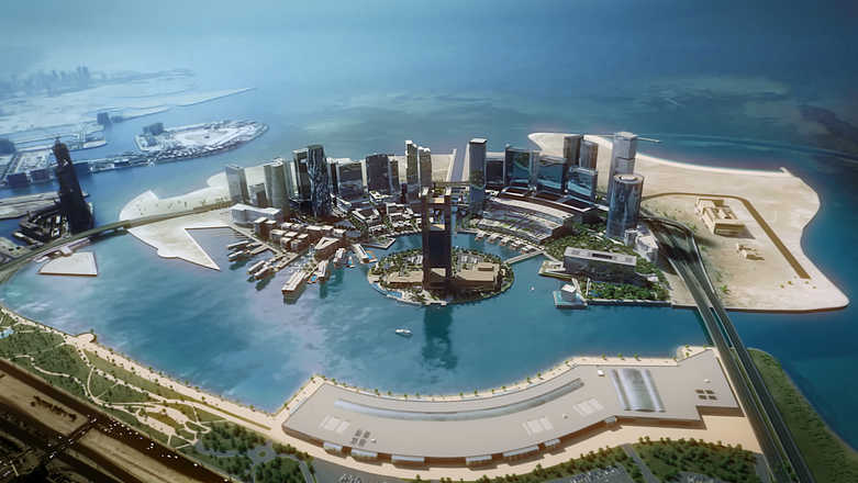 Bahrain Bay Masterplan